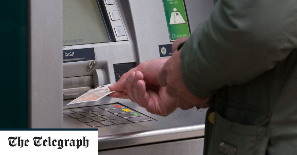 One in eight banks and cash points shut down during coronavirus