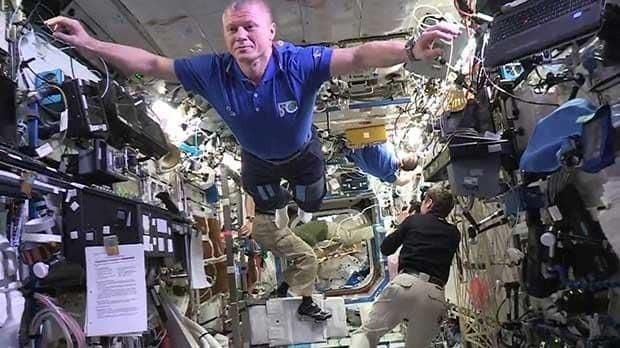 ISS crew takes the mannequin challenge to new heights