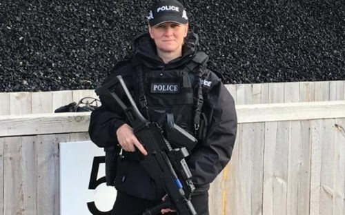 Female firearms officer accuses bosses of sex discrimination after she is told two women should not patrol together