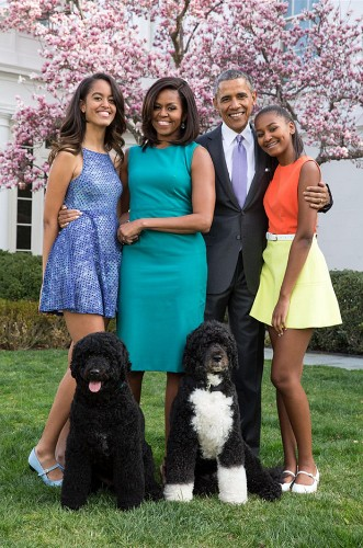 'Y'all I'm worshipping on Easter Sunday with the First Family': Obamas go to church