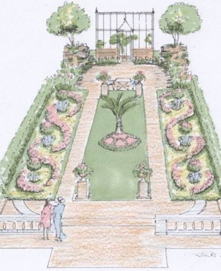 RHS Hampton Court Palace 2015: Show Garden sketches