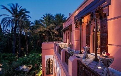 The best five-star hotels in Marrakech