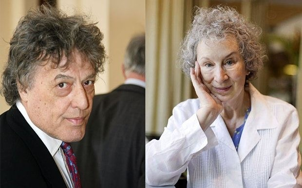 My favourite books: Sir Tom Stoppard and Margaret Atwood