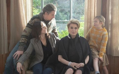 The Truth, review: Catherine Deneuve excels in a modest but beautifully observed family drama
