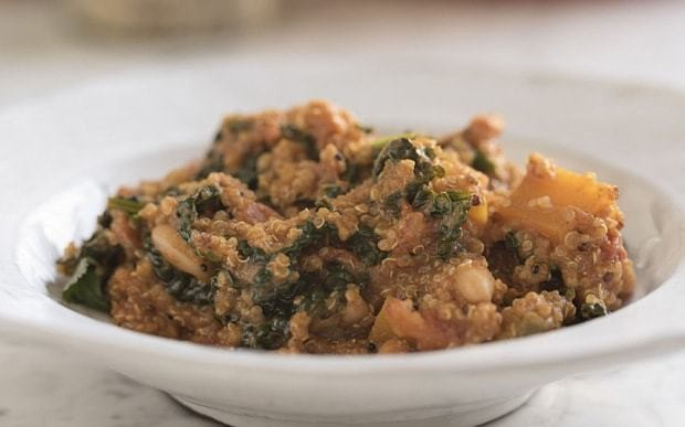 Deliciously Ella butternut squash, bean and quinoa stew recipe