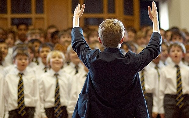 'Music education is vital in today's pressured world'