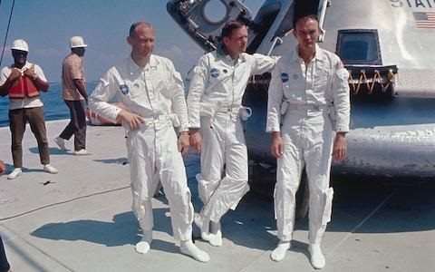 Apollo 11: The inside story from rivalry between the astronauts to Buzz Aldrin's secret tragedy