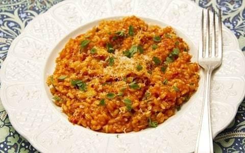 Easy tomato risotto recipe