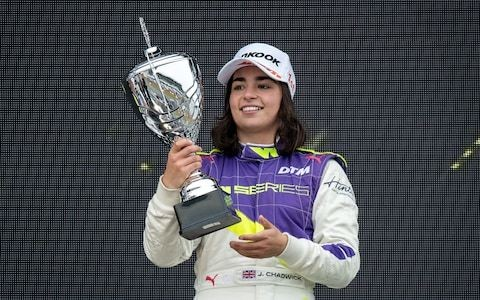 'As surreal as it gets': Jamie Chadwick joins Williams as test driver and takes step closer to gatecrashing F1's all-male grid