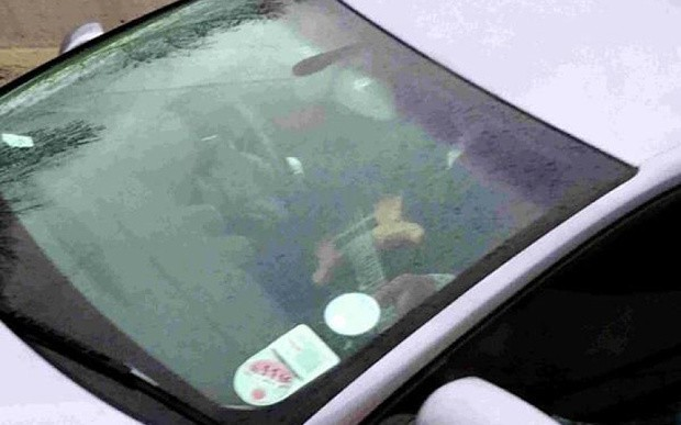 'Idiotic' driver pictured playing guitar at wheel on A27 near Chichester