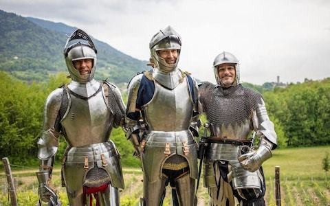 French researchers to follow Francis I's 1515 journey across the Alps in full suits of armour