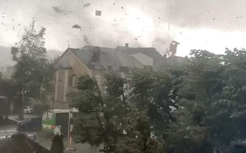 Tornado injures 19 in Luxembourg as storms batter Europe