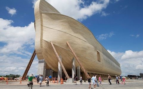 Owners of replica Noah's Ark sue insurers for flood damage compensation