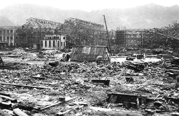 Photographs of Hiroshima and Nagasaki taken by a British serviceman a month after the atom bombs were dropped