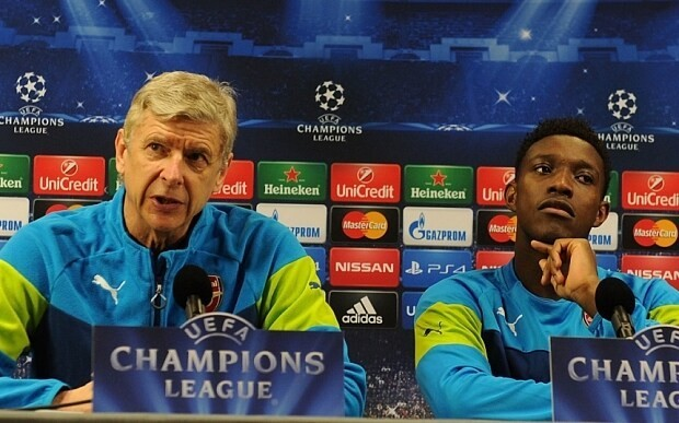 England manager Roy Hodgson reveals how he urged Arsenal to sign Danny Welbeck