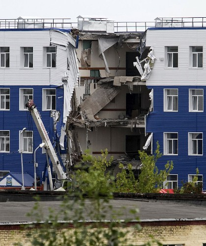 23 killed in Russian military barracks collapse in Siberia