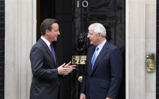 Sir John Major has broken his silence – let's hope the party is listening