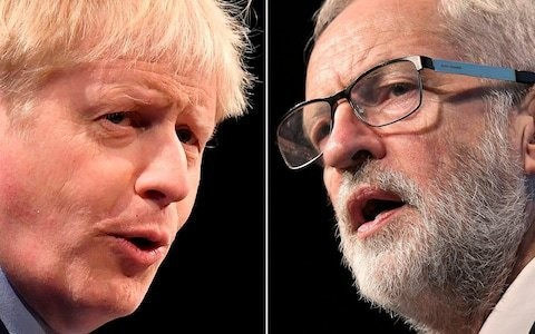 The choice is clear in this election: Boris's Brexit, or Britain goes bust under Corbyn
