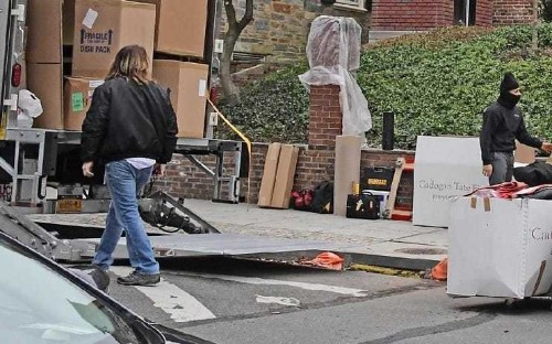 Obamas begin moving possessions into luxury new home ahead of White House exit
