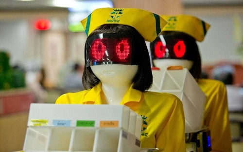 'Carebots' could take over from NHS medics to save £13bn a year