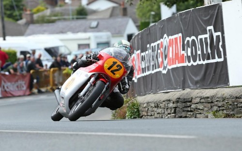The appeal of classic motorcycle racing