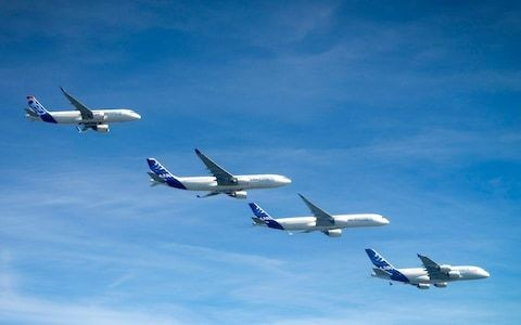Airbus copies birds' flying formation to reduce fuel consumption