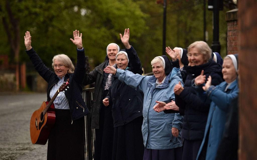 Coronavirus positive: Good news round-up – Nuns sing and dance on the streets of Sunderland