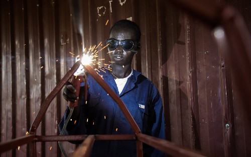 Working their way out of war: South Sudanese teenagers forging a new life – photo dispatch