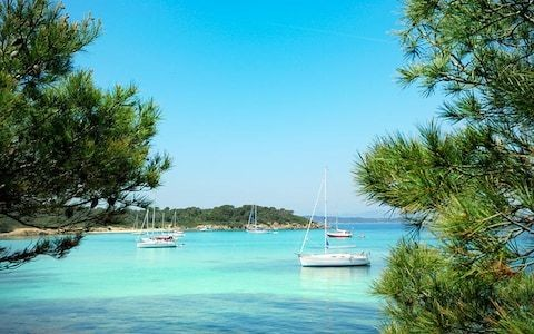 There is peace and quiet on this French Riviera isle - if you go at the right time