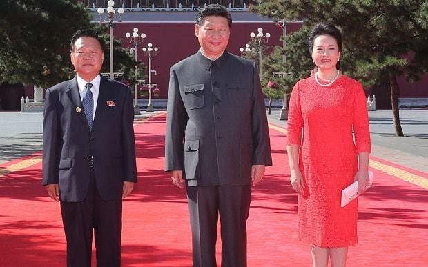 China snubs North Korea in favour of South at Beijing event