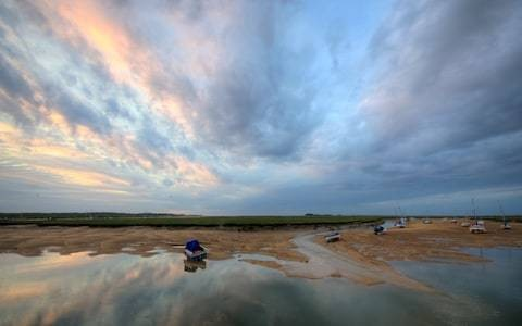 Escaping the modern world on Norfolk's serene but untamed coast