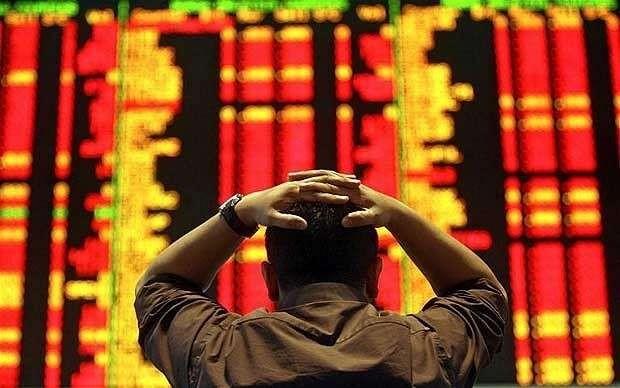 China stocks fall despite surprise 7pc GDP growth