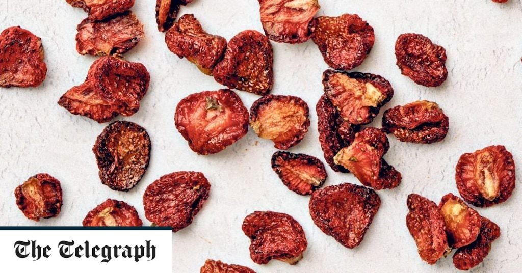 Dried strawberries recipe