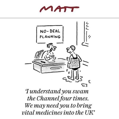 Matt cartoons, September 2019