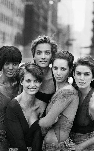 'It's ridiculous to pretend there are no beautiful older women': Peter Lindbergh on photographing the supermodels