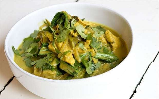 Speedy weeknight suppers: coconut chicken curry recipe