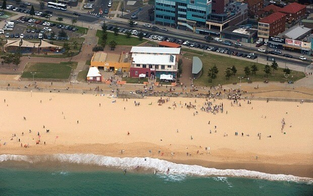 Children playing on Sydney beach find baby's body
