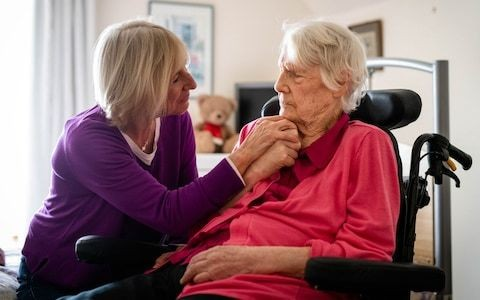 Elderly patients with progressive diseases see NHS funding withdrawn