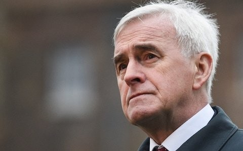 Labour's second referendum battle intensifies as McDonnell says party faces 'kicking' in European elections