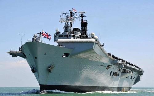 Royal Navy 'far weaker' than it was during Falklands War