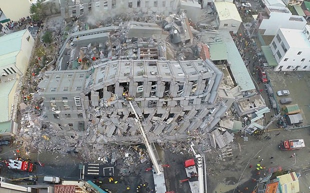 Baby rescued after 30 hours in rubble of collapsed building following Taiwan earthquake