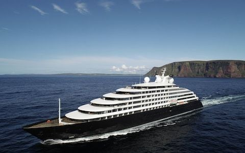 World's most luxurious cruise ship, Scenic Eclipse, makes long-awaited debut