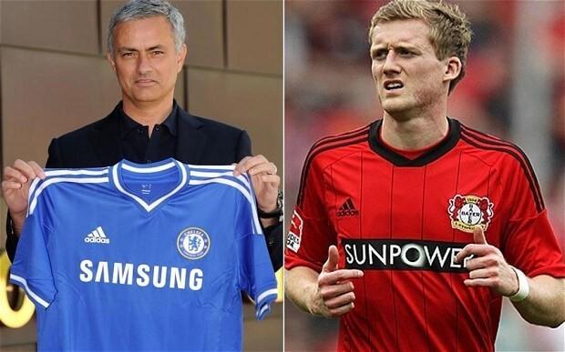 Jose Mourinho hopes Edin Dzeko will follow Andre Schurrle to Chelsea