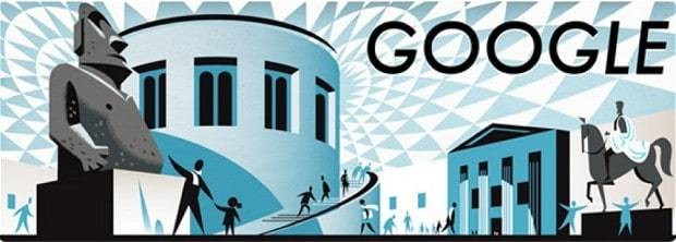 The British Museum: Google Doodle marks 255th anniversary