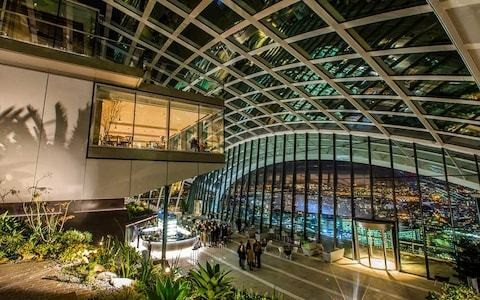The best sky gardens to escape to across the UK