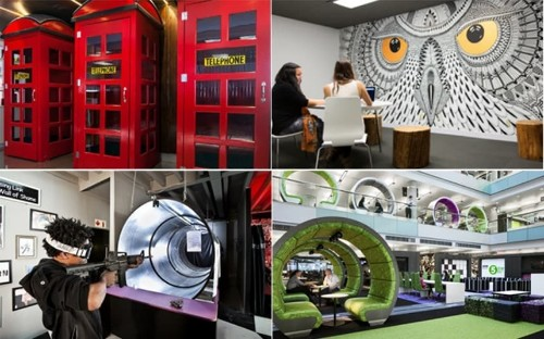 The world's coolest offices