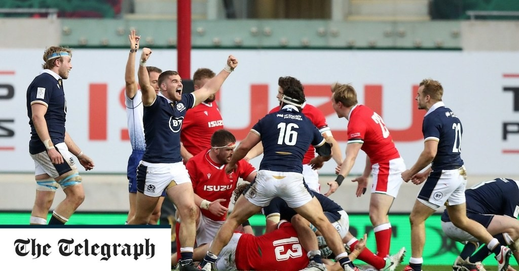 Scotland win in Wales for the first time since 2002 to ruin Alun Wyn Jones' record Test appearance