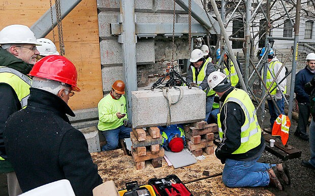 Time capsule buried by American Independence heroes discovered after over 200 years