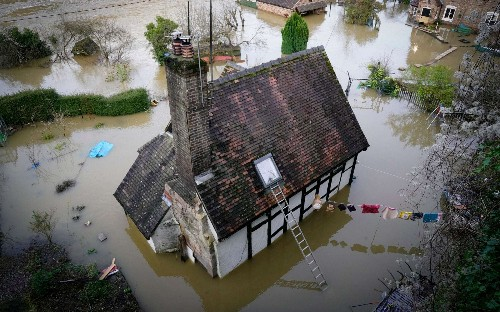 'We knew it was close to a river – but never did I expect it to be like this'