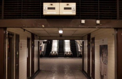 The famous Tube station that commuters cannot use